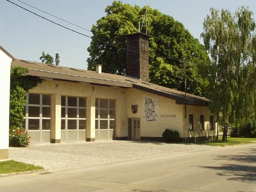 Feuerwehrhaus der Freiwilligen Feuerwehr Obersdorf 1984