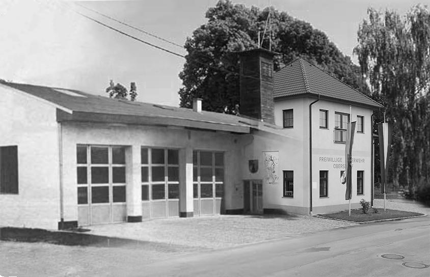 Feuerwehrhaus im Lauf der Zeit