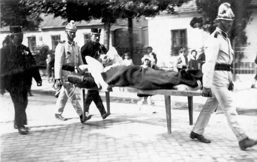Schauübung Menschenrettung 1929