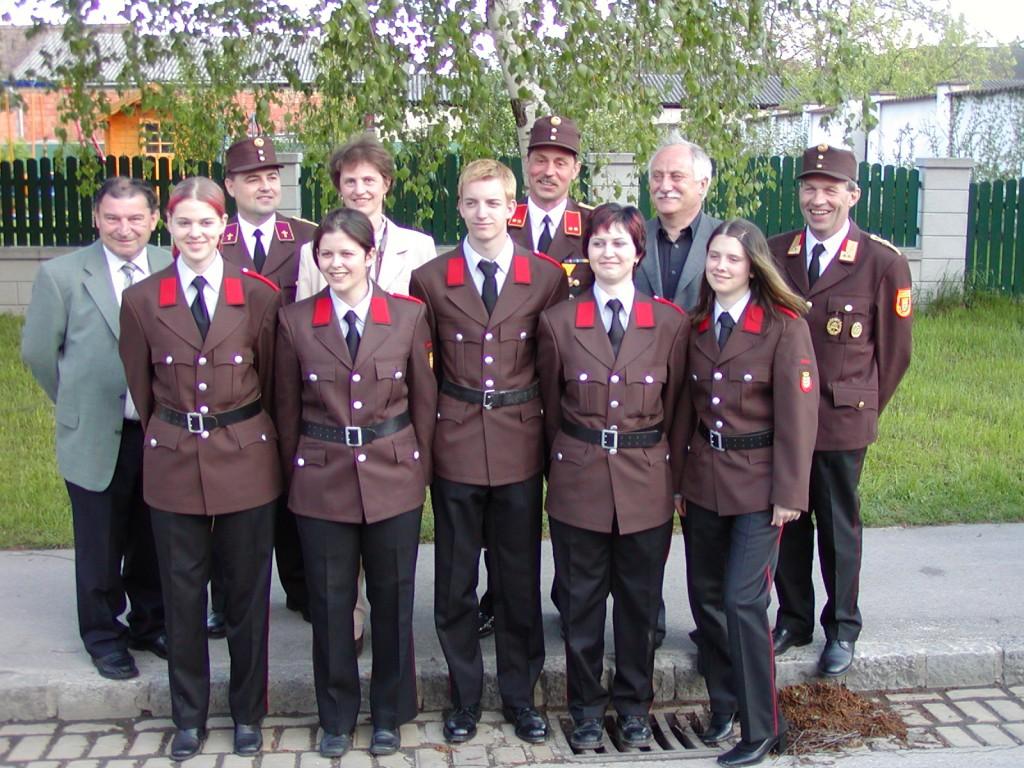 Erstmals Frauen bei der FFO (2003)