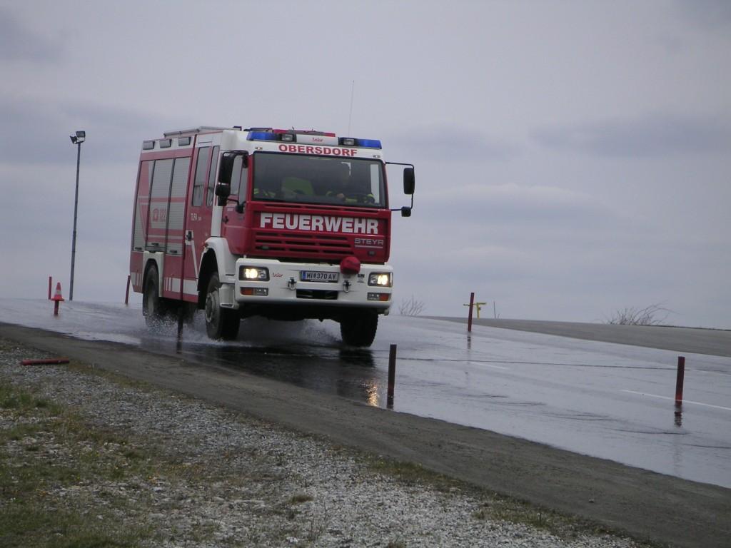 Fahrtraining mit dem TFLA 3000 (2007)