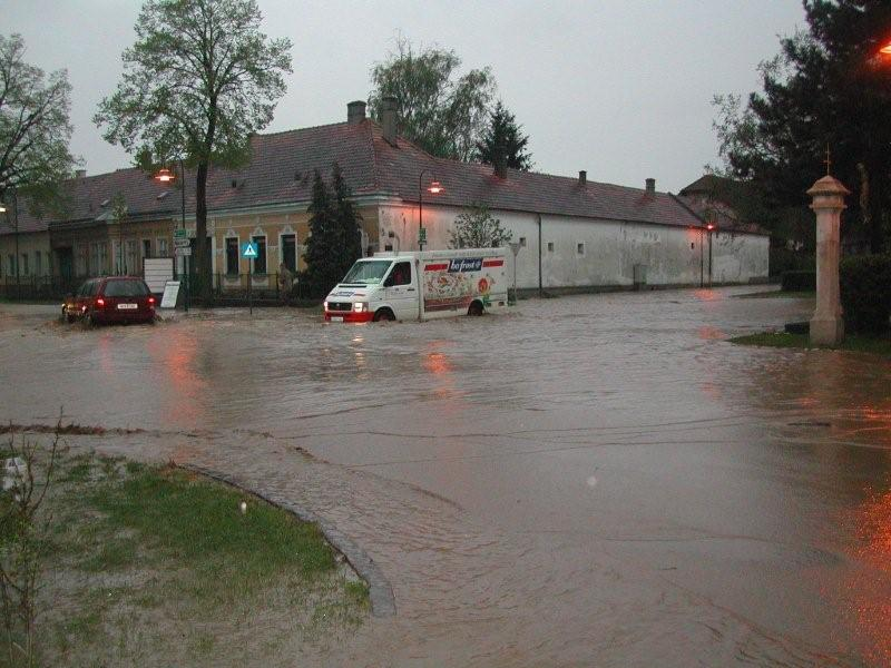 Hochwasser Obersdorf (2008)